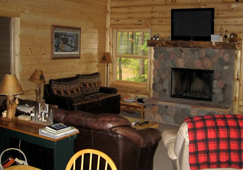 Lodging In Vilas County Aberdeen Cabins Llc Cabin 2